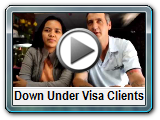 video testimonial from down under visa client, recommending jeff and mila harvie to get an australian visa for your filipino fiancee
