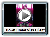down under visa client with an Australian partner visa from Philippines