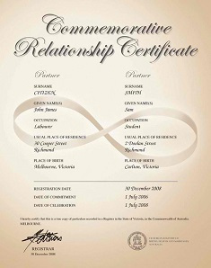 de facto relationships De facto relationships  the department of foreign affairs and trade is pleased to provide the following information in relation to the recognition of de facto relationships under australian law.