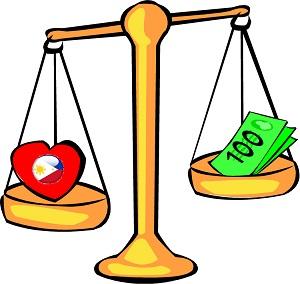 money versus wife