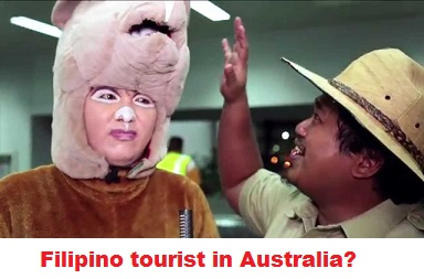 For a Filipino to get an Australian tourist visa he needs to prove a genuine reason to visit Australia and that they will return