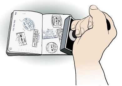 Is an australian visa a stamp or a sticker in your passport, or a letter?