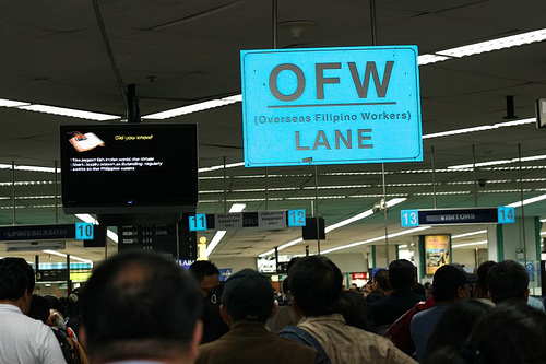 There are many OFW's (Overseas Filipino Workers), and we process partner and tourist visa applications for Filipinas in other countries