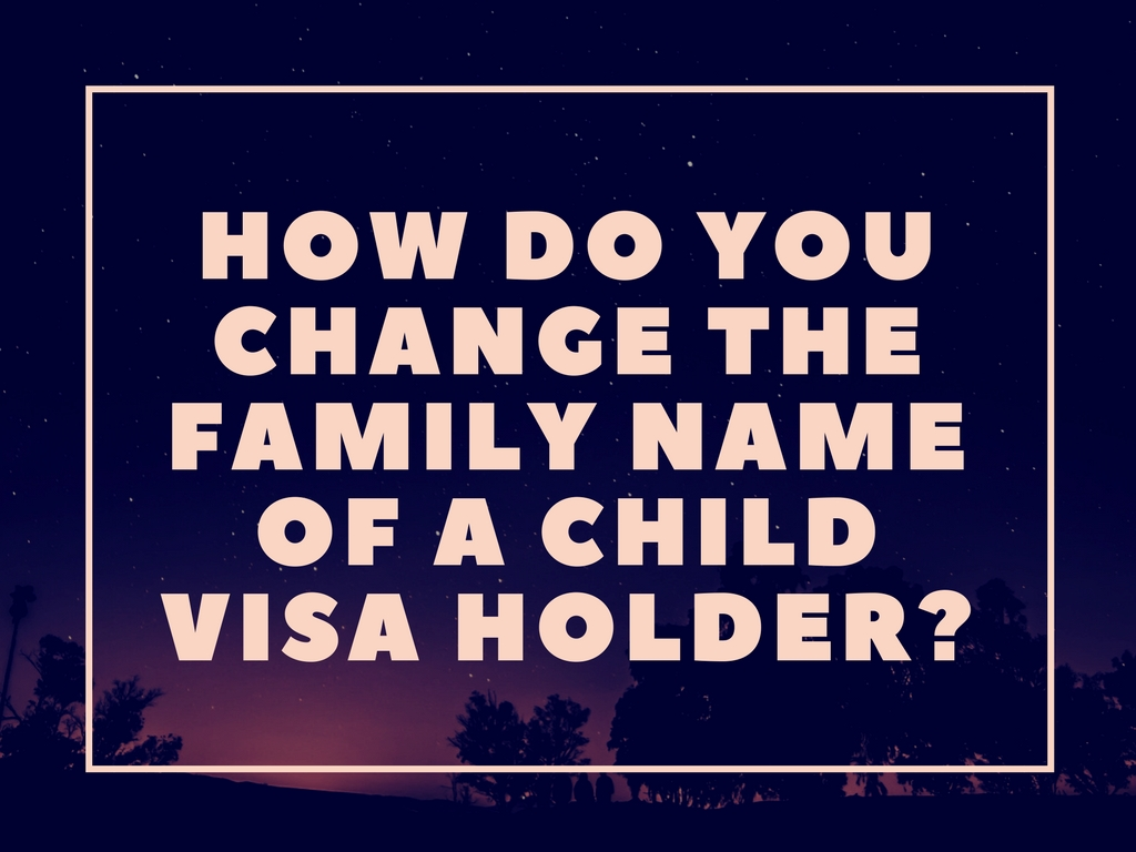 Do you need to adopt the child of your Filipina wife, or can you change the family name of the child only