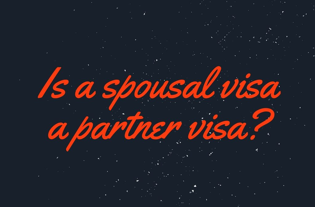Spousal visa Australia – Is a spousal visa a partner visa?
