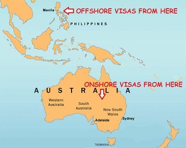 Offshore partner visa versus onshore partner visa