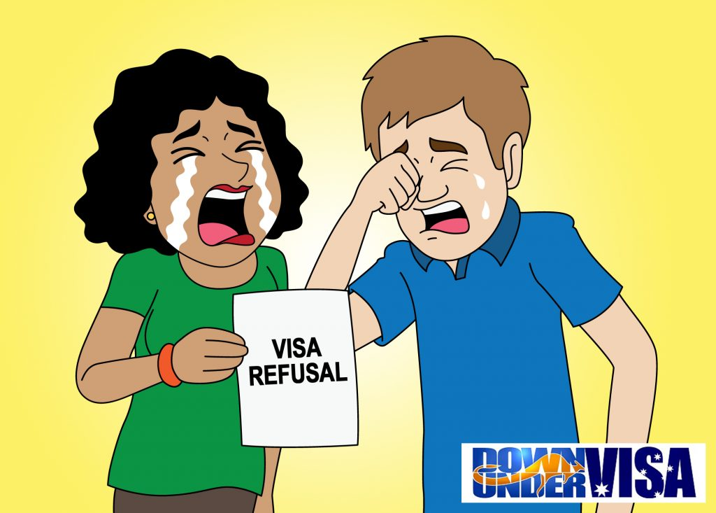 An Australian tourist visa refusal notice can be traumatic to an Australian Filipina couple