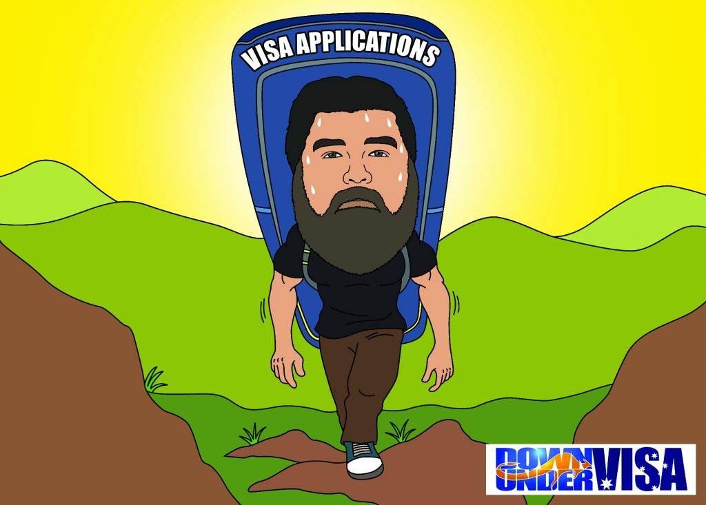 Australian visa applications require hard work and professional management