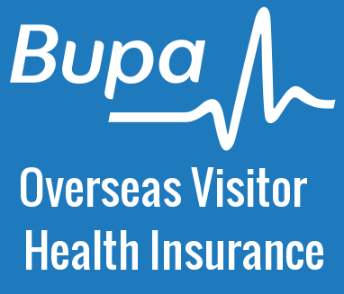 BUPA overseas visitor health insurance OVHC