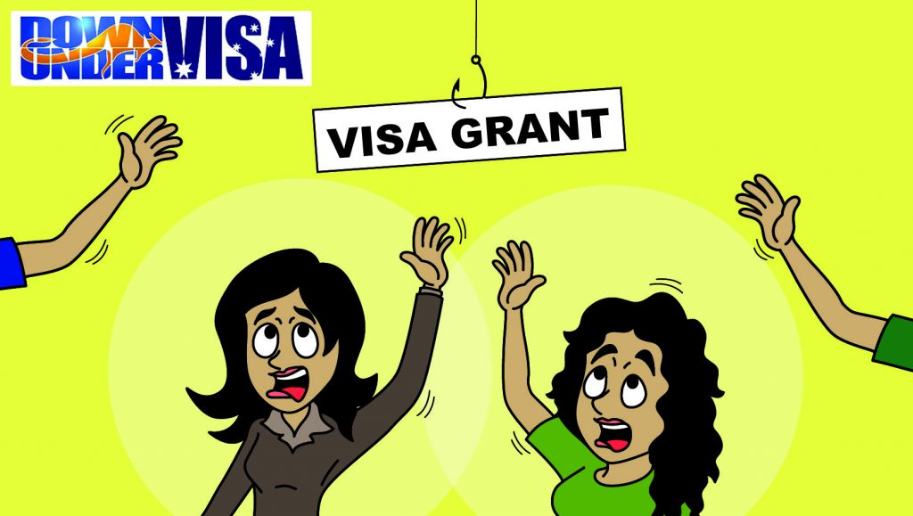 Australian visa grants are grants and not rights