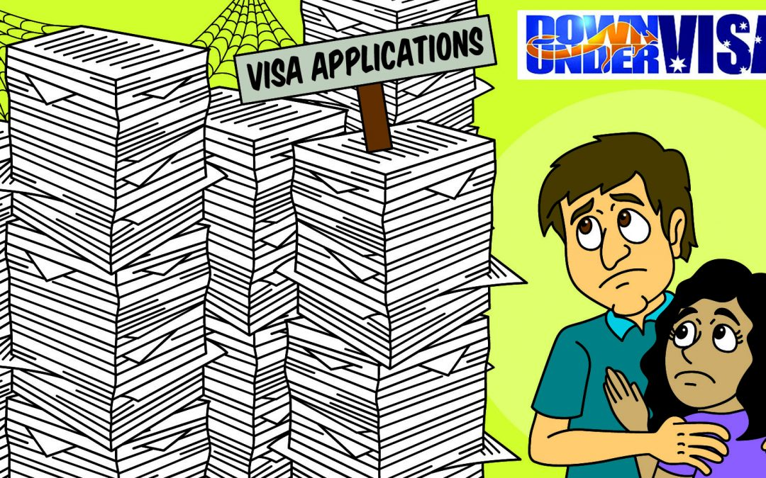 Australian Visa Processing Time – and the Big Dusty Pile
