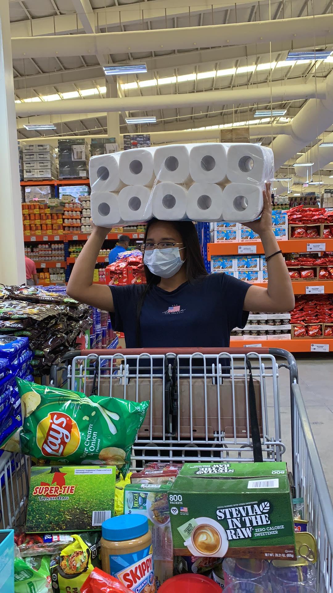 No panic buying in Manila