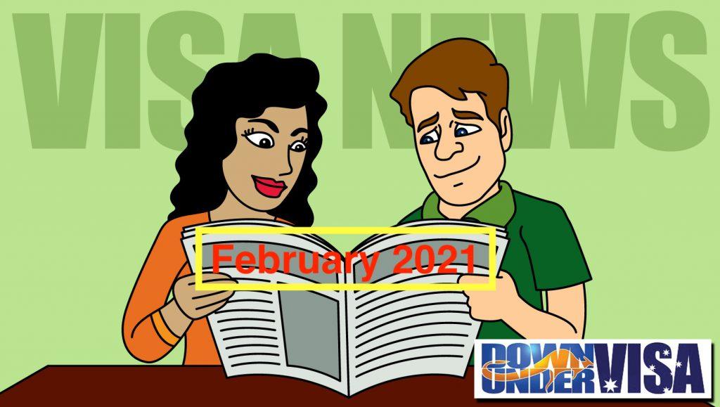 Down Under Visa News February 2021 Australian partner visas and online weddings and permanent partner visas