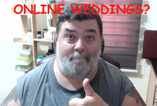 online weddings and Australian visa applications