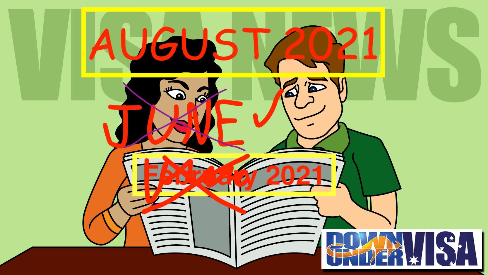 August 2021 Down Under Visa News Online Weddings and Offshore Partner Visas
