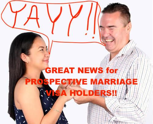 Great news for Australian Prospective Marriage Visa Holders regarding travel ban exemptions