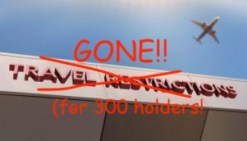 Travel Ban Exemption Subclass 300 holders